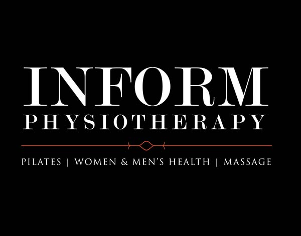 Inform Physiotheraphy logo Black Background