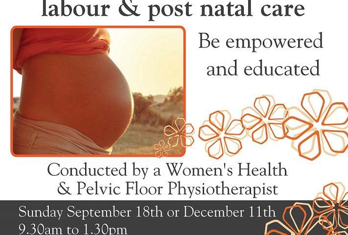 Inform Active Birth Skills Flyer