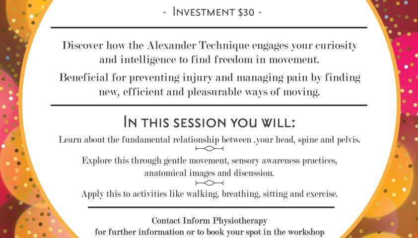 Inform Physio Alexander Technique